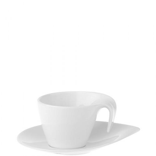 Villeroy & Boch Flow filiżanka do espresso ze spodkiem