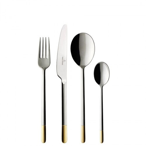 Villeroy & Boch Ella Partially Gold Plated komplet sztućców 24 elementy