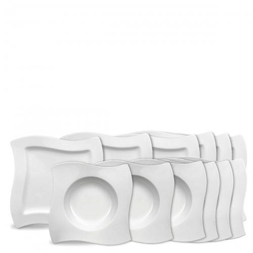 Villeroy & Boch New Wave zestaw talerzy, 12 sztuk