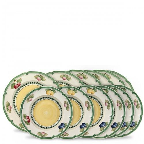 Villeroy & Boch French Garden zestaw talerzy obiadowych, 12 sztuk