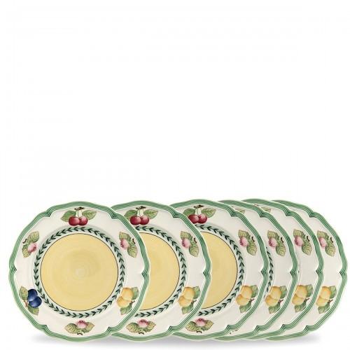 Villeroy & Boch French Garden zestaw talerzy śniadaniowych, 6 sztuk