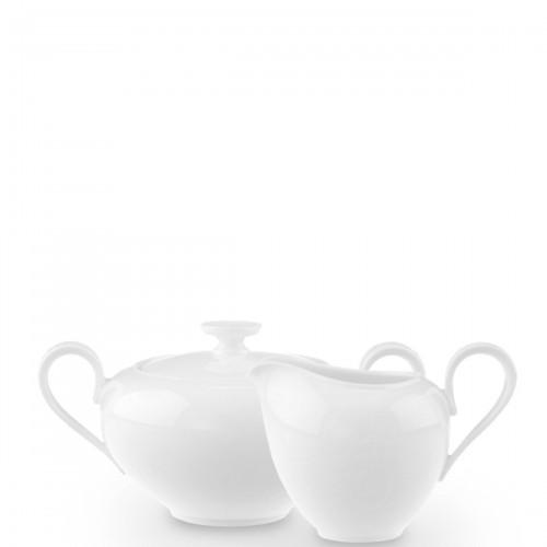 Villeroy & Boch Anmut zestaw cukiernica i mlecznik