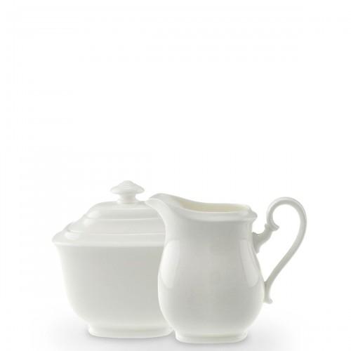 Villeroy & Boch Royal zestaw cukiernica i mlecznik