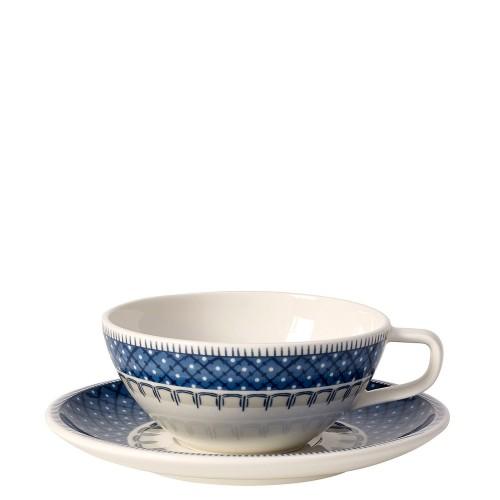 Villeroy & Boch Casale Blu filiżanka do herbaty ze spodkiem