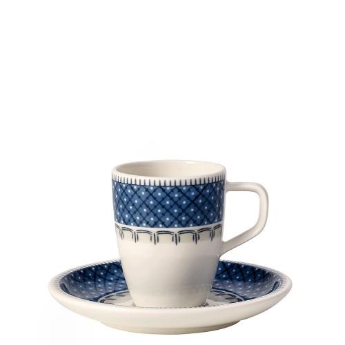 Villeroy & Boch Casale Blu filiżanka do espresso ze spodkiem