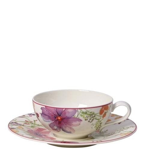 Villeroy & Boch Mariefleur Tea Filiżanka do herbaty ze spodkiem