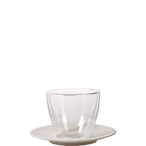 Villeroy & Boch Manufacture Rock blanc Zestaw do białej kawy