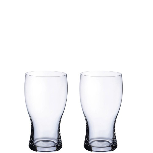 Villeroy & Boch Purismo Zestaw dwóch szklanek do piwa