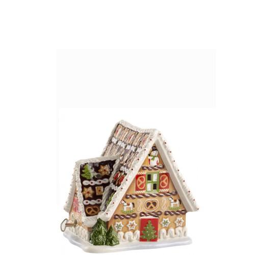 Villeroy & Boch Christmas Toys Domek z piernika z pozytywką