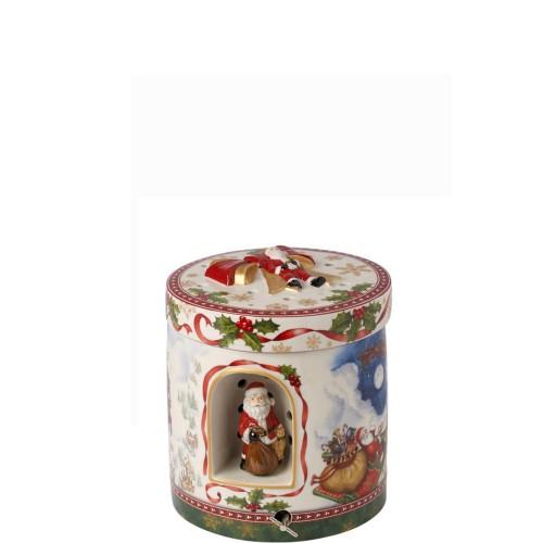 Villeroy & Boch Christmas Toys Ozdoba z pozytywką- zaprzęg Mikołaja