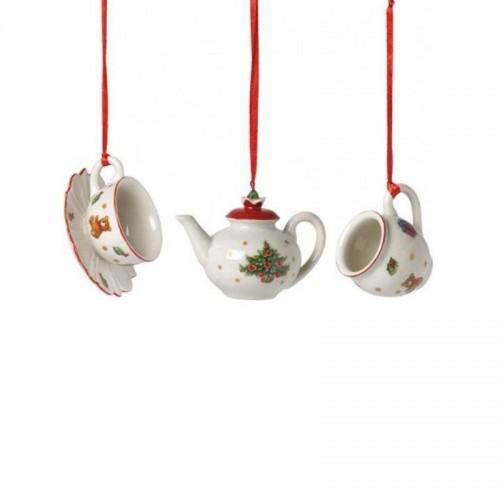 Villeroy & Boch Nostalgy Ornaments Zestaw 3 zawieszek