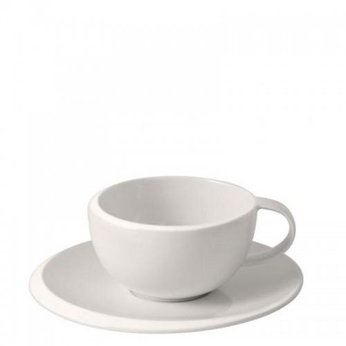 Villeroy & Boch NewMoon Filiżanka do kawy ze spodkiem