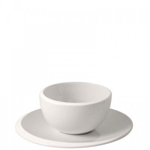 Villeroy & Boch NewMoon Kubek do kawy ze spodkiem