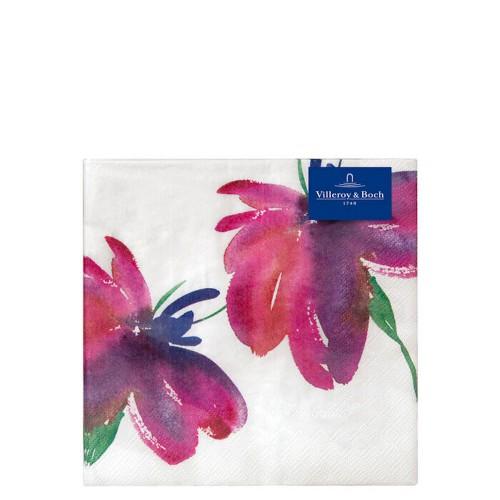 Villeroy & Boch Artesano Flower Art Lunch Papierowe serwetki, 20 sztuk