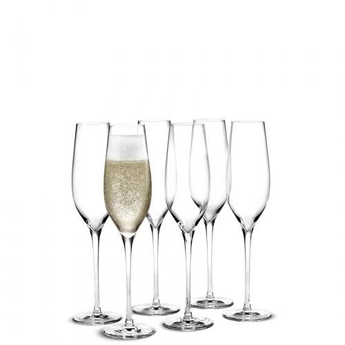 HolmeGaard Cabernet kieliszki do szampana, 6szt