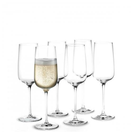 HolmeGaard Bouquet kieliszki do szampana, 6szt