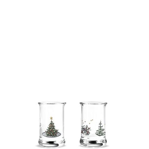 HolmeGaard Christmas Dram Glass 2016 Kieliszki, 2 szt.