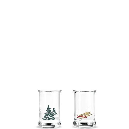HolmeGaard Christmas Zestaw dwóch kieliszków