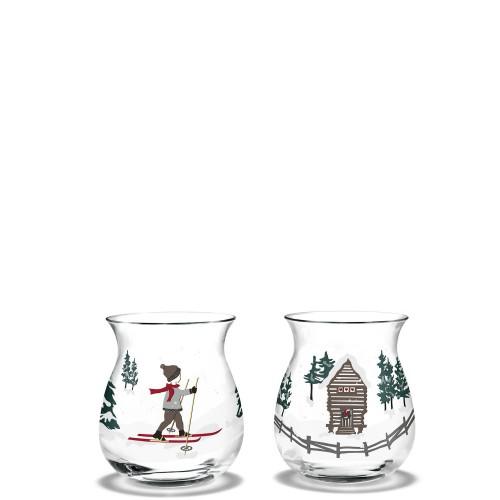 HolmeGaard Christmas Zestaw dwóch świeczników