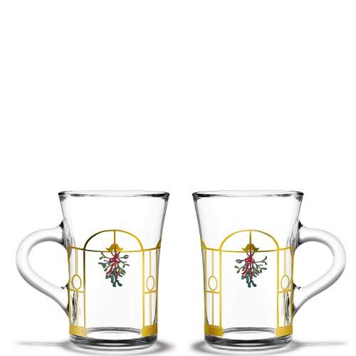 HolmeGaard Christmas Zestaw dwóch szklanek