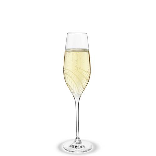 HolmeGaard Cabernet Lines Kieliszki do szampana, 2 szt.