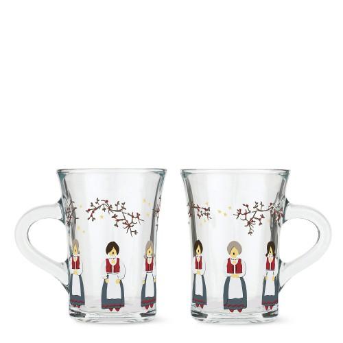 HolmeGaard Christmas 2021 Zestaw dwóch szklanek