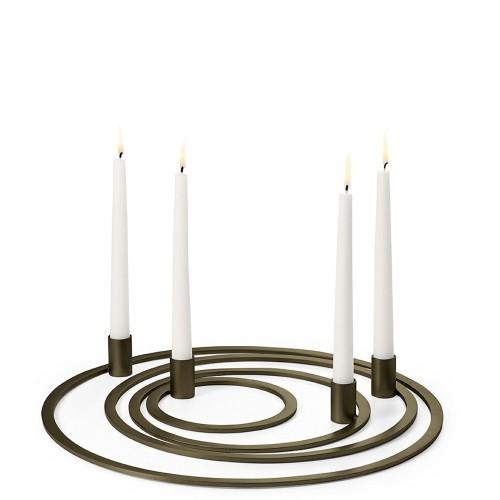 Philippi Four Rings Świecznik