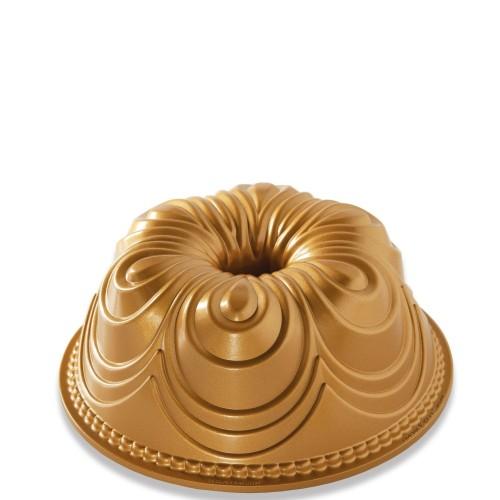 Nordic Ware CHIFFON GOLD forma do babki