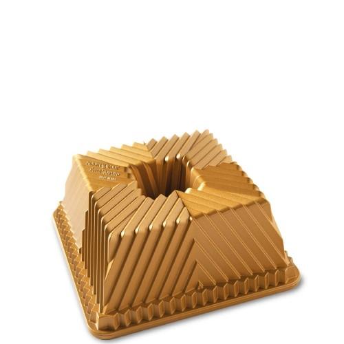 Nordic Ware SQUARED GOLD forma do babki