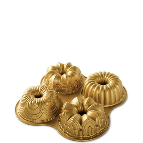 Nordic Ware QUARTET GOLD forma do babek