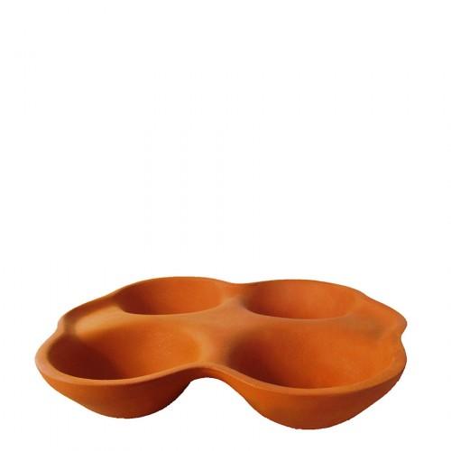 Vitos Keramia Gliniana forma do pieczenia jajek, bułek i owoców