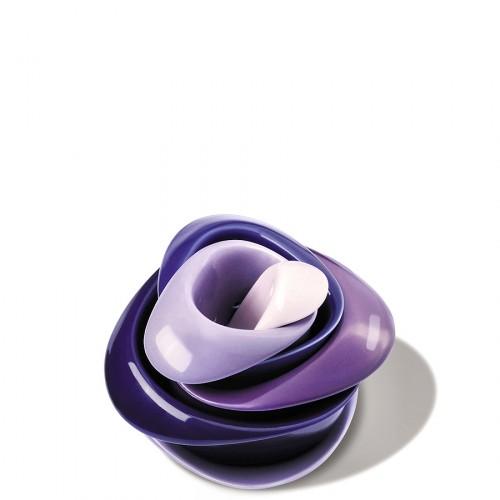 PO: Rose zestaw filiżanek fioletowy
