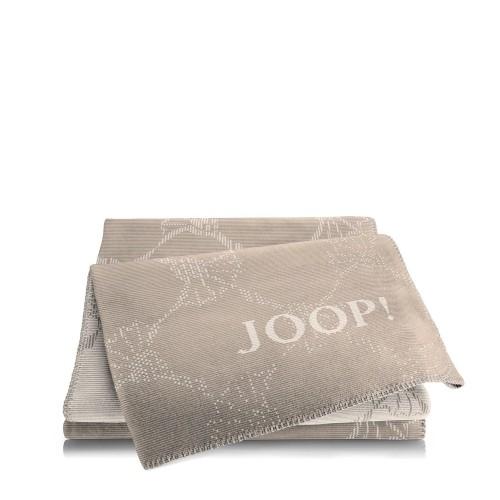 JOOP! Cornflower Dove Beige dwustronny koc