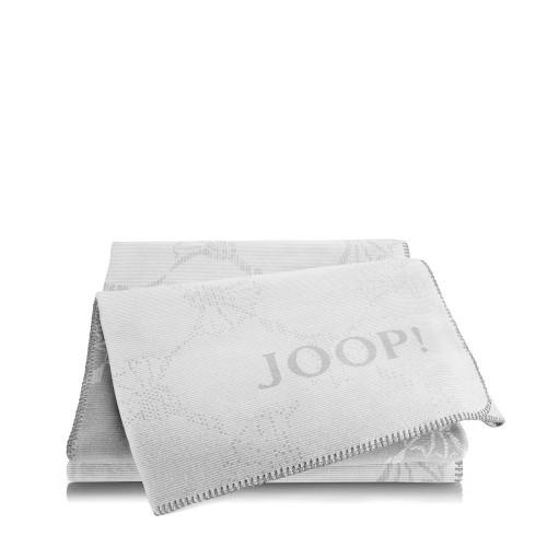 JOOP! Cornflower Dove Silver dwustronny koc
