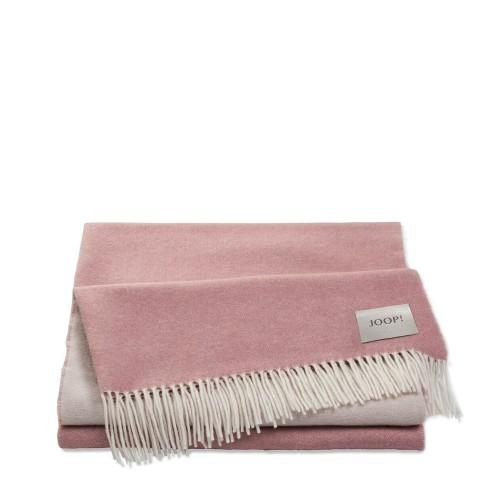 JOOP! Wool Sensual Sensual Pink pled wełniano-kaszmirowy