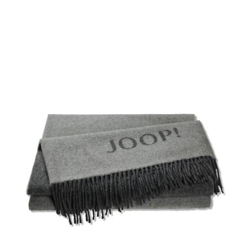 JOOP! Wool Fine Grey pled wełniano-kaszmirowy