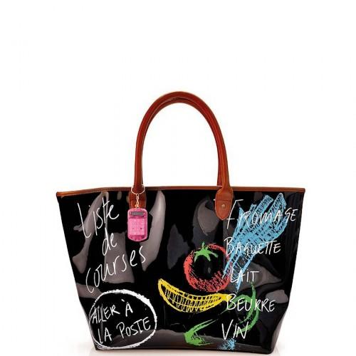 Iris Market Bag torba na zakupy, francuskie napisy