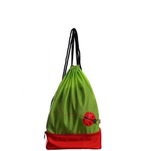 Iris Worek plecaczek biedronka