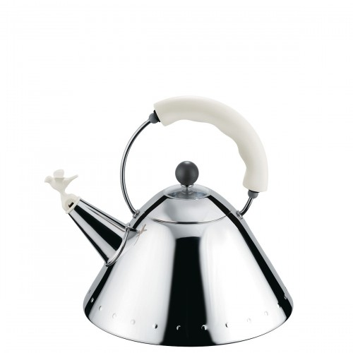 Alessi Alessi czajnik z gwizdkiem w kształcie ptaszka