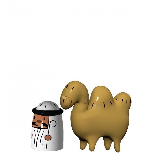 A di Alessi Amir & Camelus  porcelanowe figurki, 2 szt