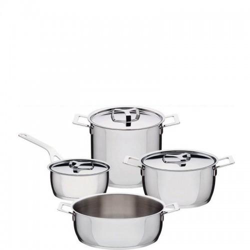 A di Alessi Pots & Pans Komplet garnków 7 elementów