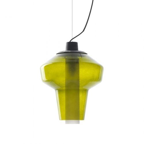 Diesel Foscarini Metal glass 2 lampa wisząca, kolor zielony