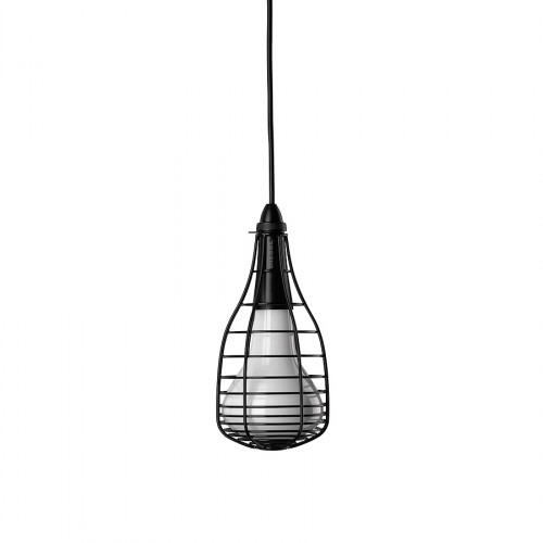 Diesel Foscarini Cage Mic  lampa wisząca, kolor czarny