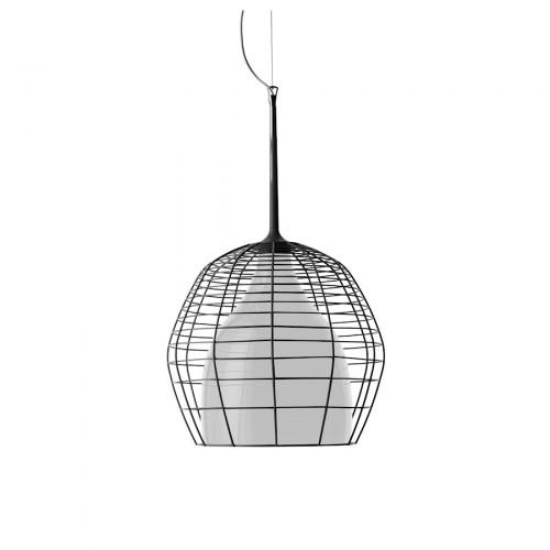 Diesel Foscarini Cage lampa wisząca, kolor czarny