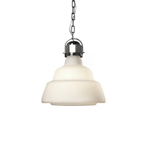 Diesel Foscarini Glas lampa wisząca, kolor biały