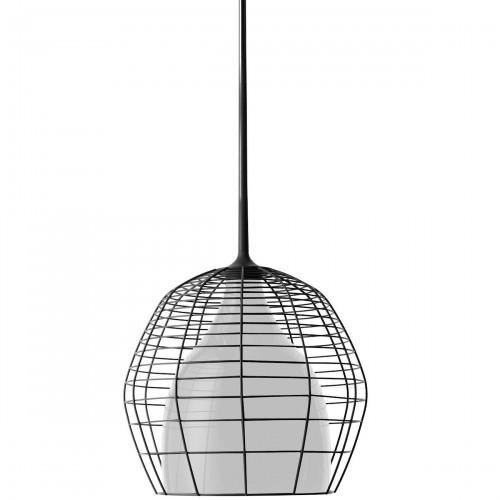Diesel Foscarini Cage lampa wisząca, kolor czarno-biały