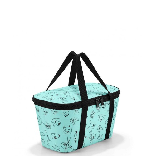 Reisenthel Coolerbag torba termiczna, kids cats and dogs mint