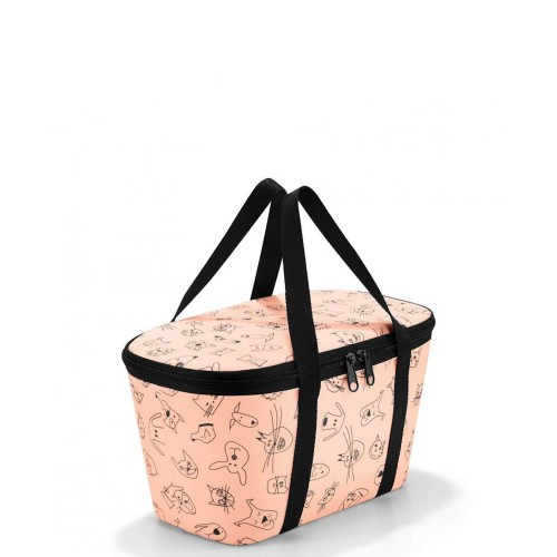 Reisenthel Coolerbag torba termiczna, kids cats and dogs rose