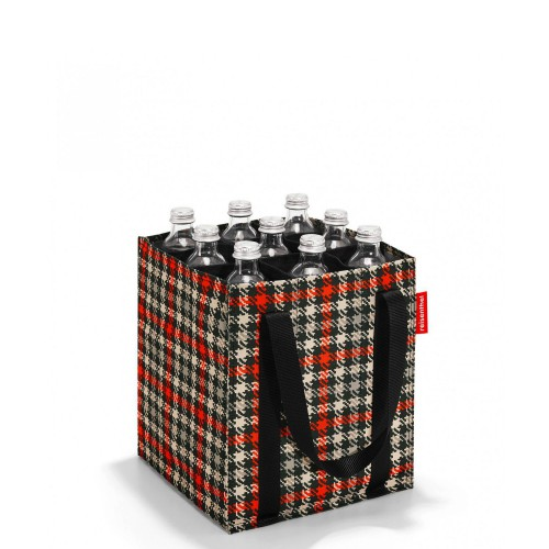 Reisenthel Bottlebag Torba na butelki, glencheck red