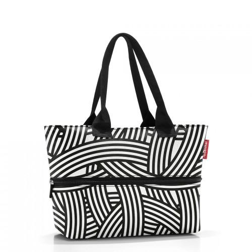 Reisenthel Shopper e1 Torba na zakupy, zebra